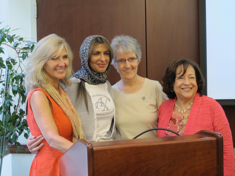 Honoring HRH Basmah Bint Saud and Ms Rima Salah