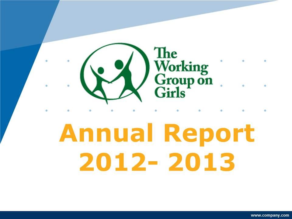 WGG Annual Report 2012 – 1213